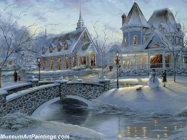 Christmas Oil Paintings 112