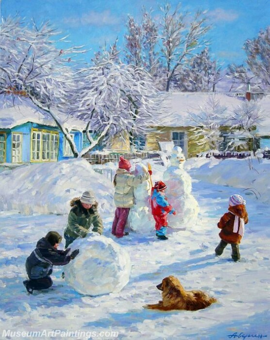 Christmas Painting MD010