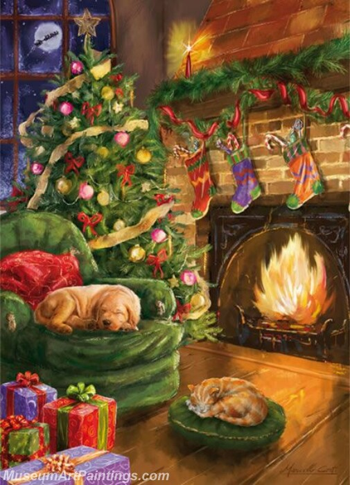 Christmas Painting MD012