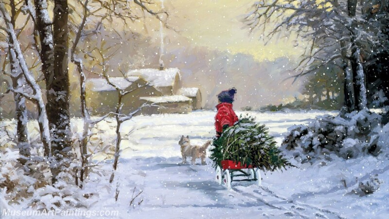 Christmas Painting MD020