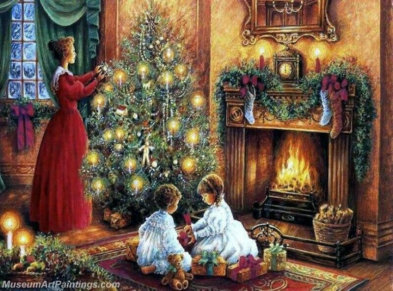 Christmas Painting MD032