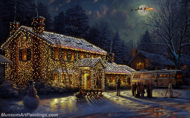Christmas Painting MD038