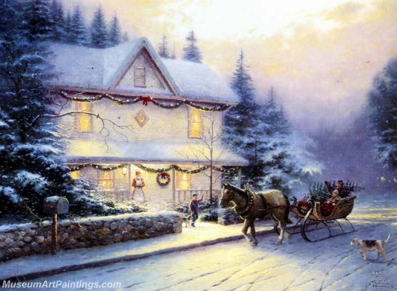 Christmas Painting MD047