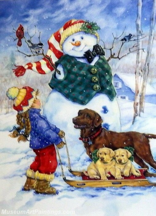 Christmas Painting MD049