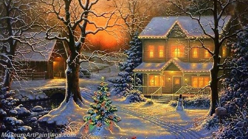 Christmas Painting MD056