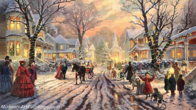 Christmas Painting MD061