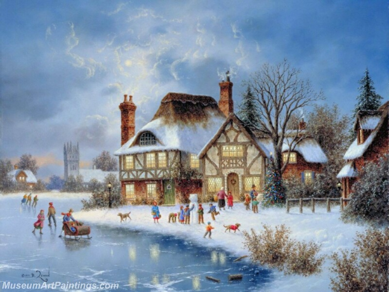 Christmas Painting MD063