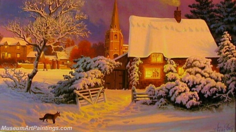 Christmas Painting MD066