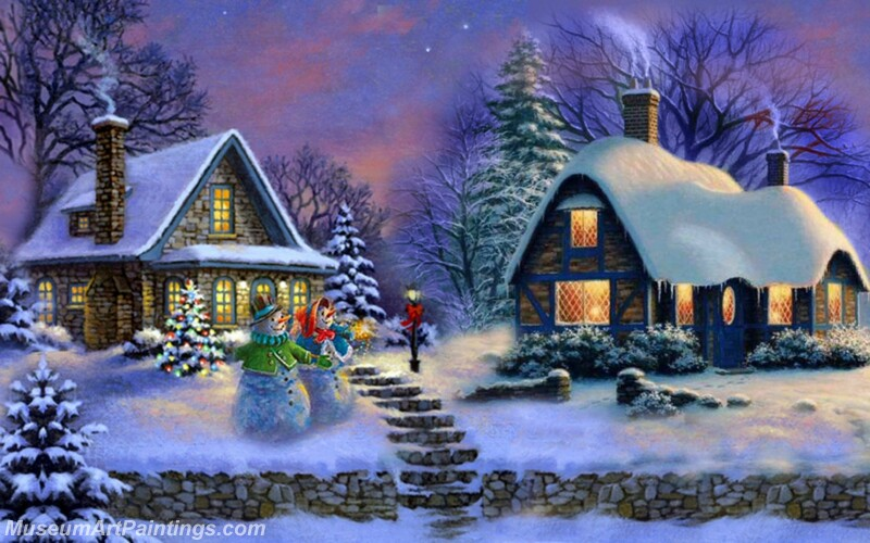 Christmas Painting MD072
