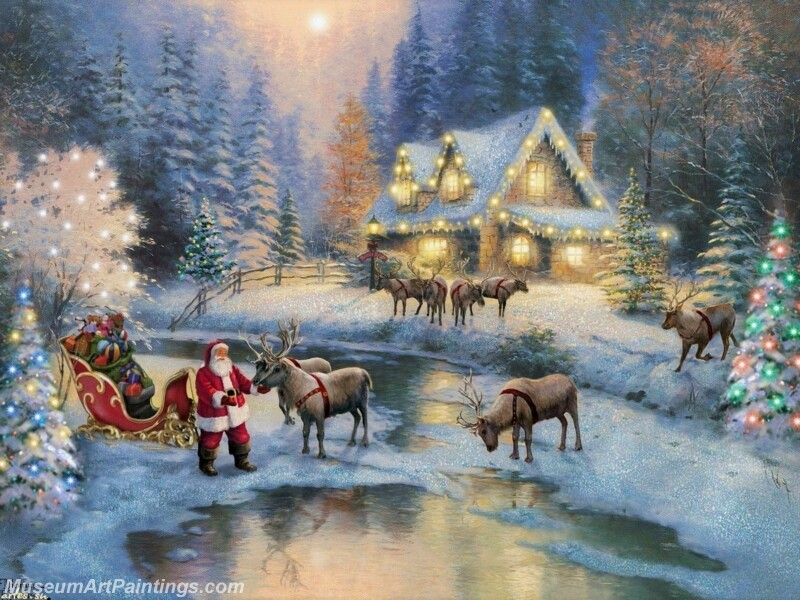 Christmas Painting MD073
