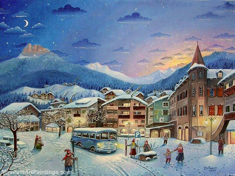 Christmas Painting MD076