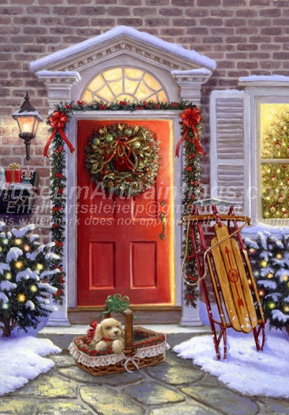 Christmas Paintings 013