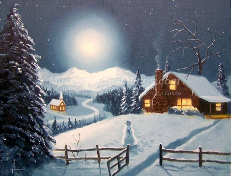 Christmas Paintings 014