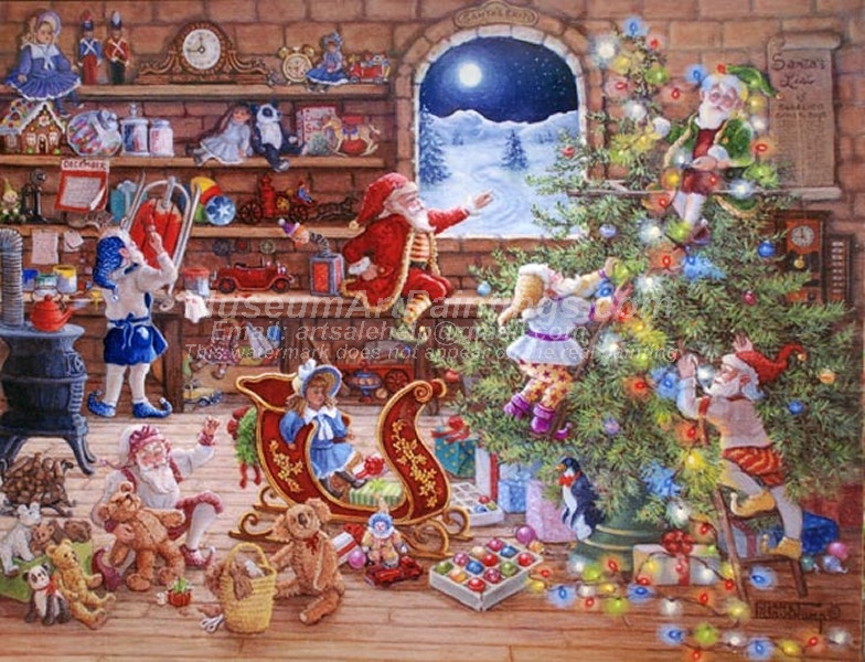 Christmas Paintings 040