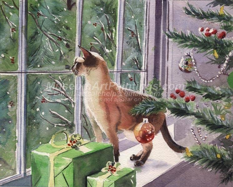 Christmas Paintings 045