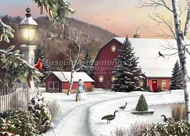 Christmas Paintings 050
