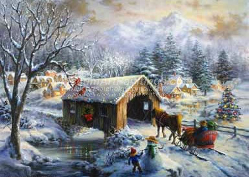 Christmas Paintings 054