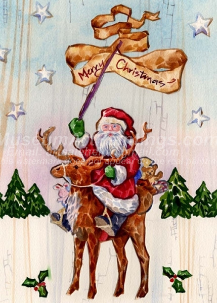 Christmas Paintings 057