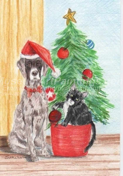 Christmas Paintings 061
