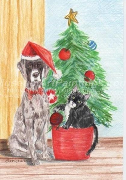 Christmas Paintings 061