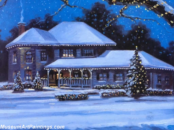Christmas Paintings Christmas Scene