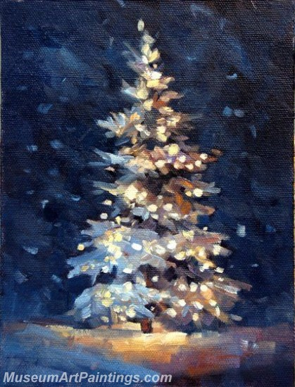 Christmas Paintings on Canvas CPN011