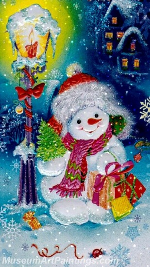 Christmas Paintings on Canvas CPN015
