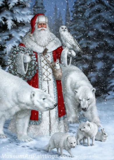 Christmas Paintings on Canvas CPN019