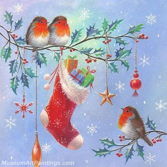 Christmas Paintings on Canvas CPN024