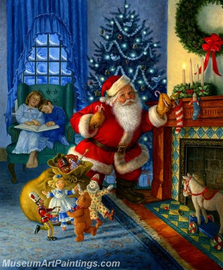 Christmas Paintings on Canvas CPN027