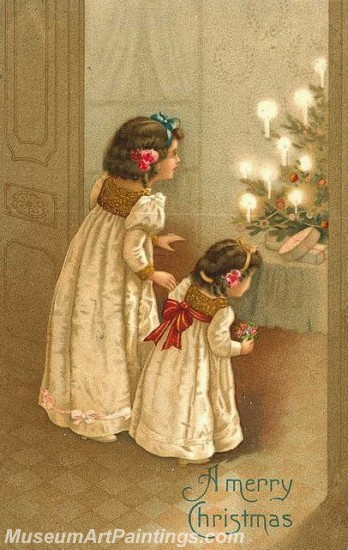 Christmas Paintings on Canvas CPN029