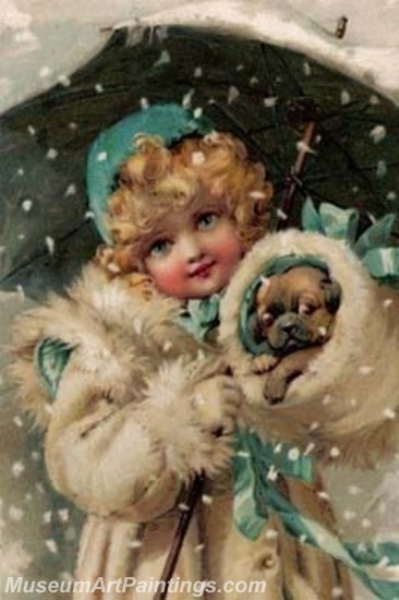 Christmas Paintings on Canvas CPN031