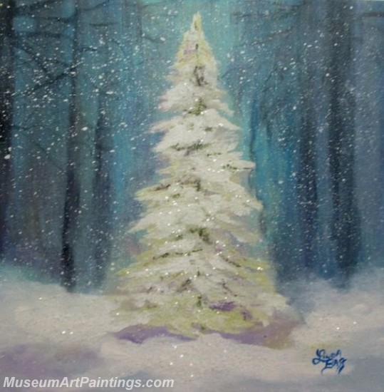Christmas Paintings on Canvas CPN033