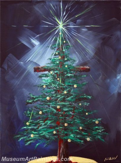 Christmas Paintings on Canvas CPN038