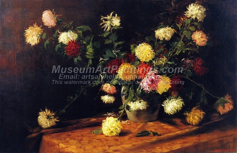 Chrysanthemums by Mathias J Alten
