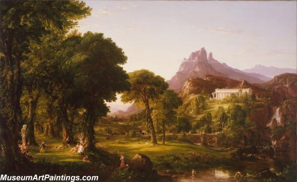 Classical Landscape Oil Painting M1263