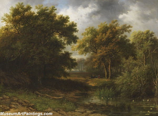 Classical Landscape Oil Painting M1265