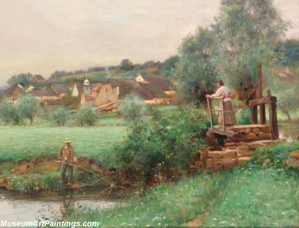 Classical Landscape Oil Painting M1267
