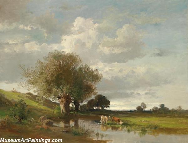 Classical Landscape Oil Painting M1269