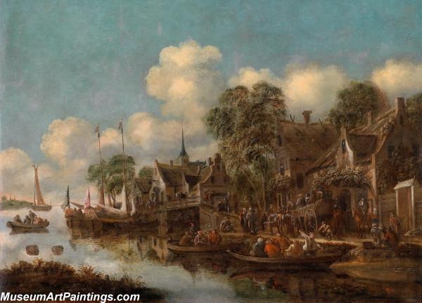 Classical Landscape Oil Painting M1272