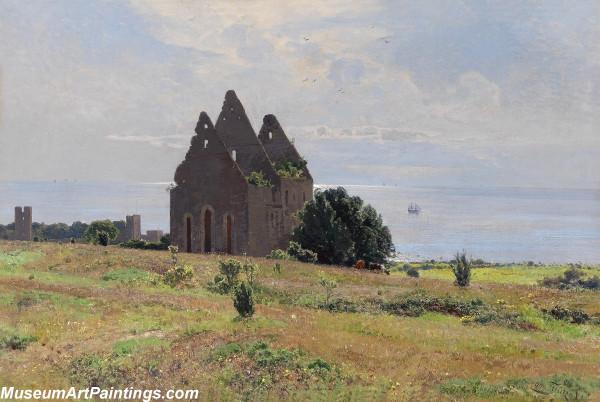 Classical Landscape Oil Painting M674