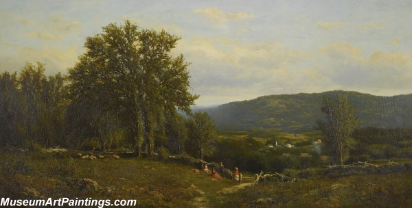 Classical Landscape Oil Painting M675