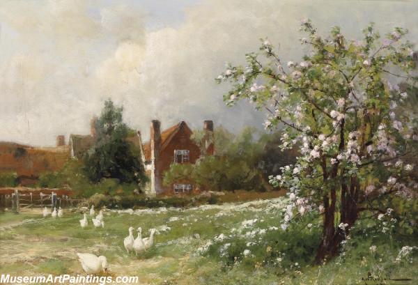 Classical Landscape Oil Painting M676