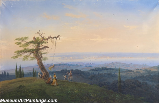 Classical Landscape Paintings M1354