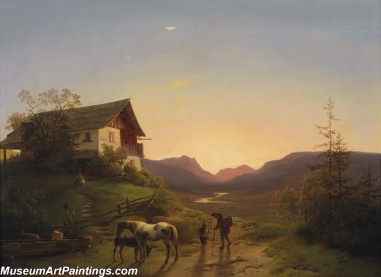 Classical Landscape Paintings M1359