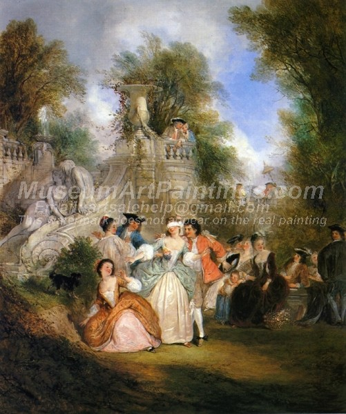 Classical Oil Paintings Pastoral Celebration