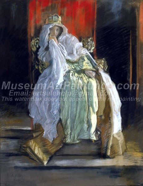 Classical Oil Paintings The Queen in Hamlet