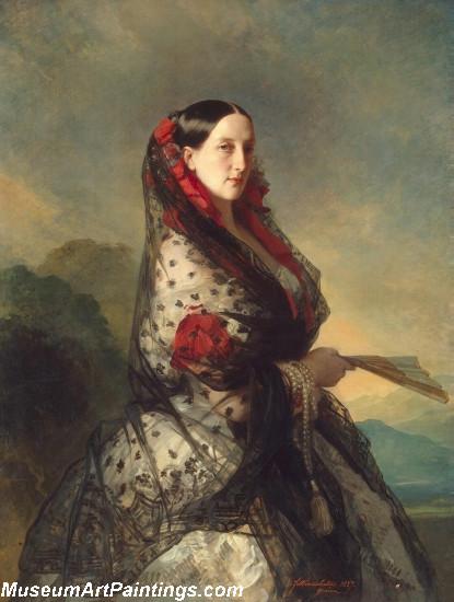 Classical Paintings Grand Duchess Maria Nikolaievna of Russia Duchess of Leuchtenberg