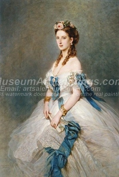 Classical Paintings Queen Alexandra when Princess of Wales