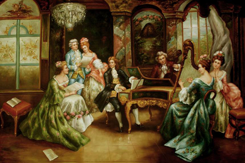Classical People Oil Painting 047